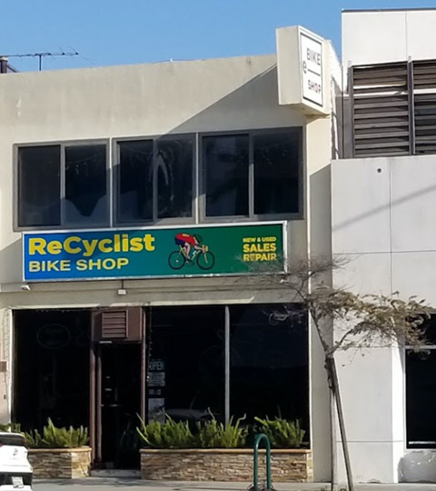 The Recyclist Bicycle Shop